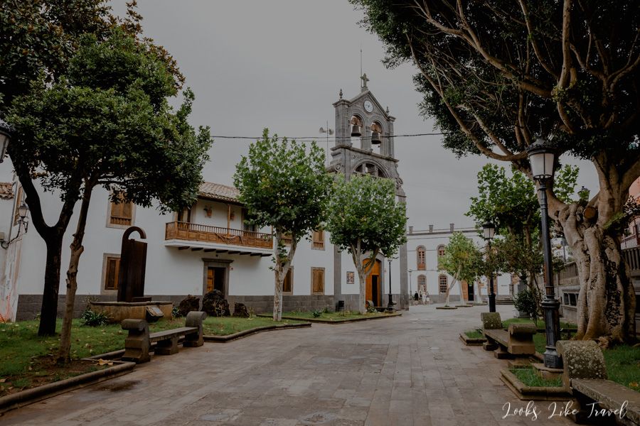 church of Iglesia de San Roque- Firgas