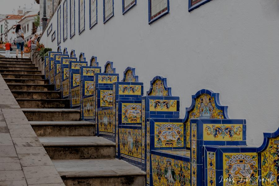Paseo de Gran Canaria- benches
