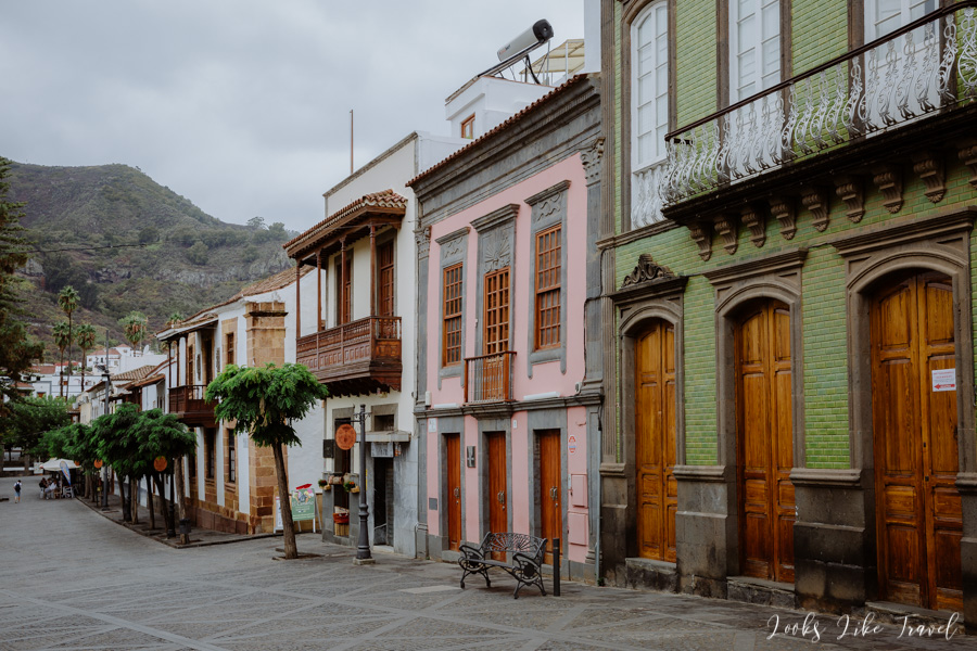 colorful houses, Teror, Gran Canaria