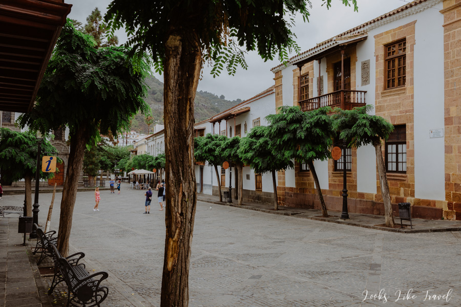 Teror- the main square of the city