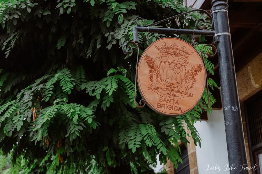 coat of arms of the city of Santa Brigida