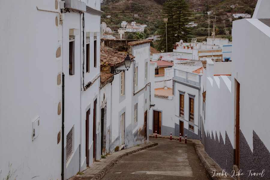 beautiful town of the Canary Islands