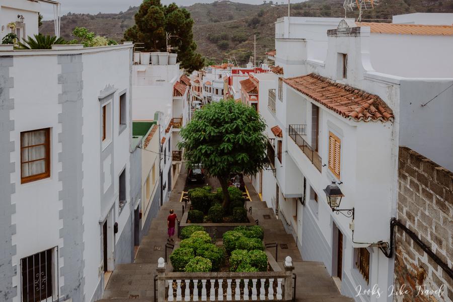 a mountain town in Gran Canaria