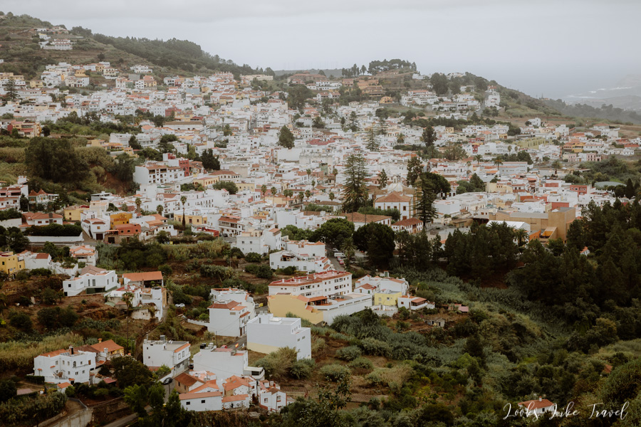 view of the entire city of Teror