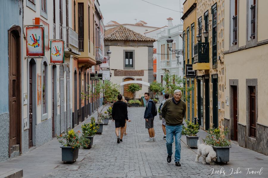 climatic streets in Santa Brigida