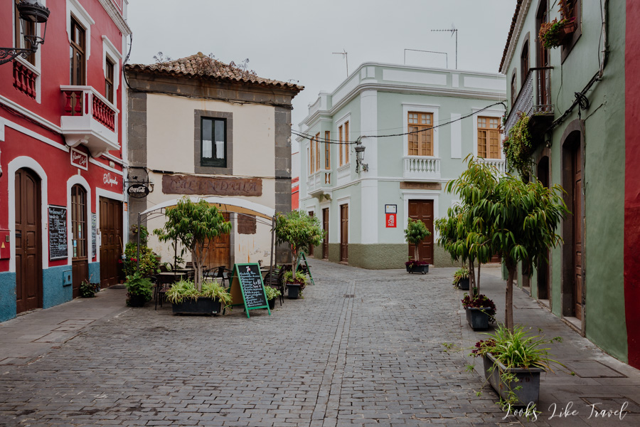 the old town of Santa Brigida