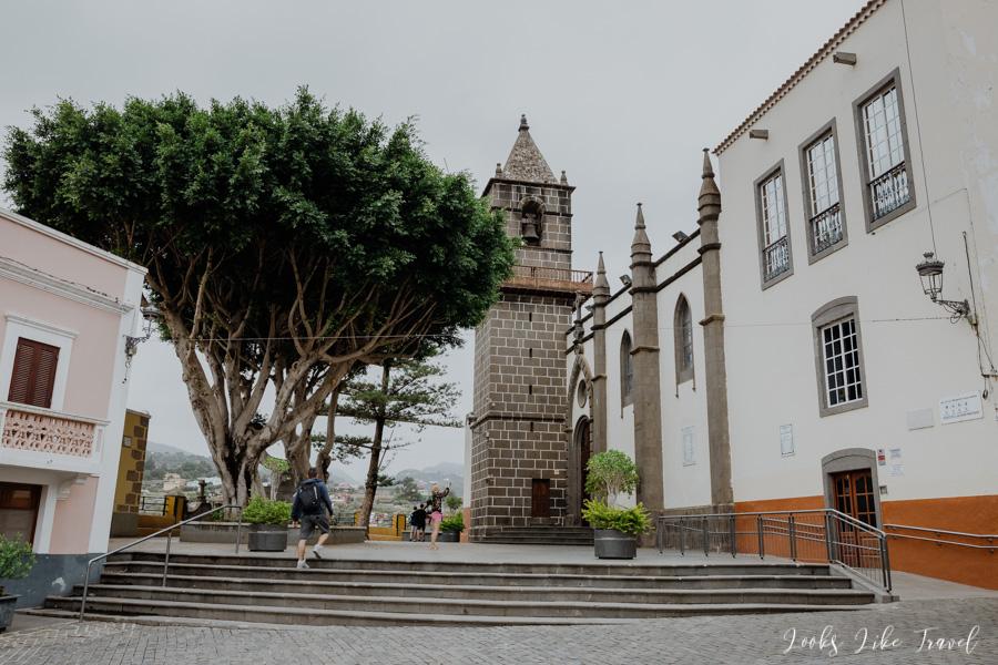 church in Santa Brigida, Gran Canaria