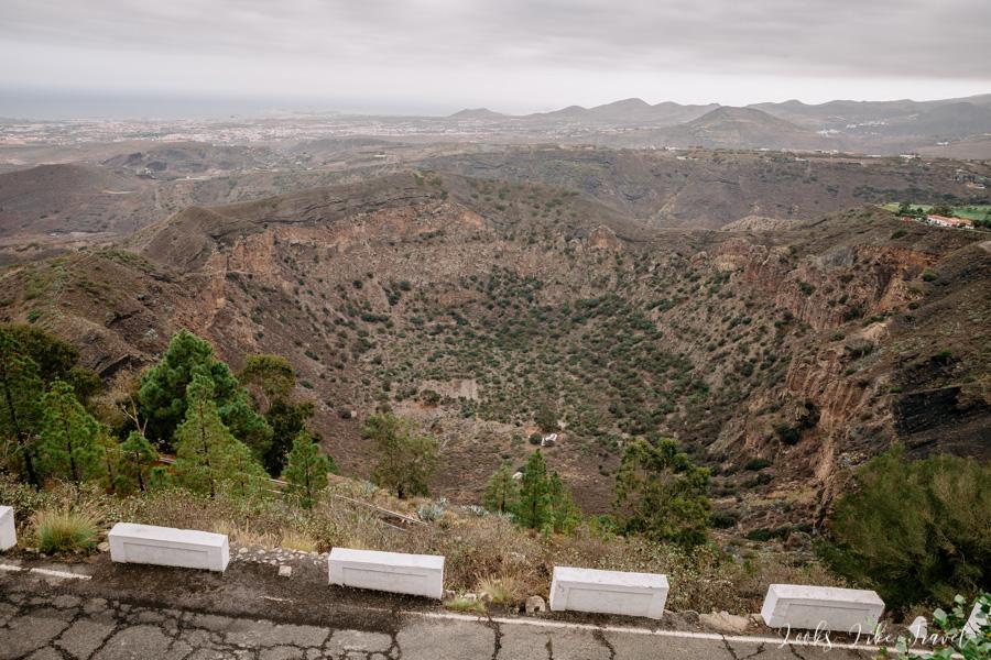 Pico De Bandama viewpoint
