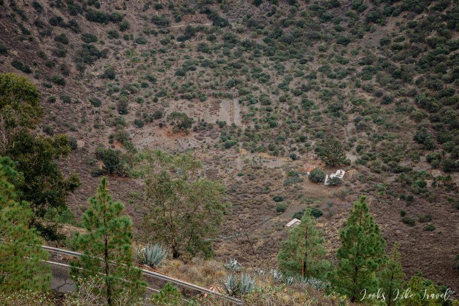 Caldera de Bandama- village