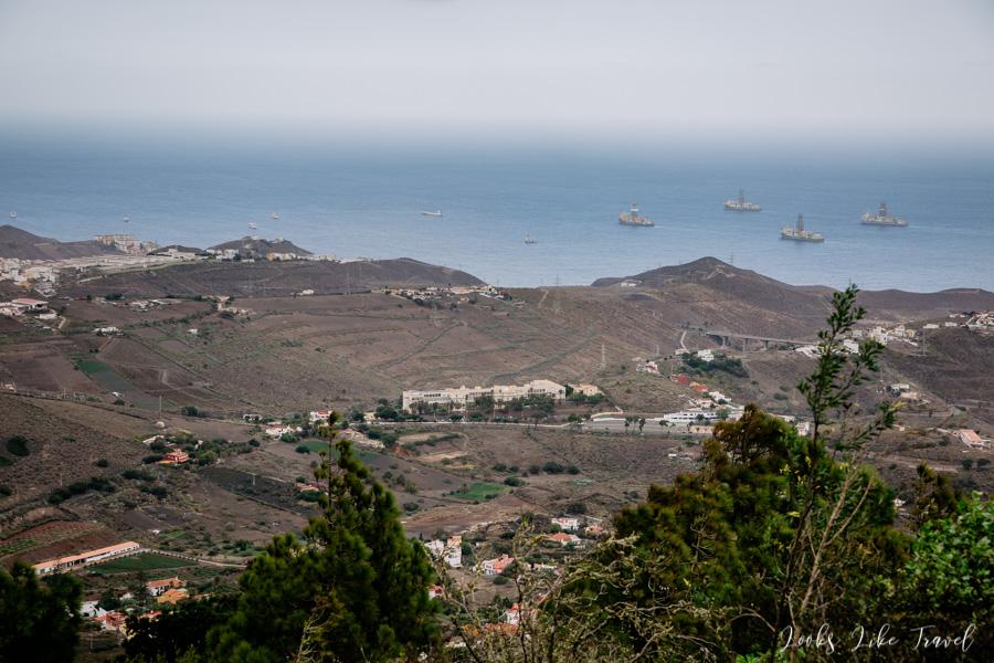 ocean view, Pico De Bandama