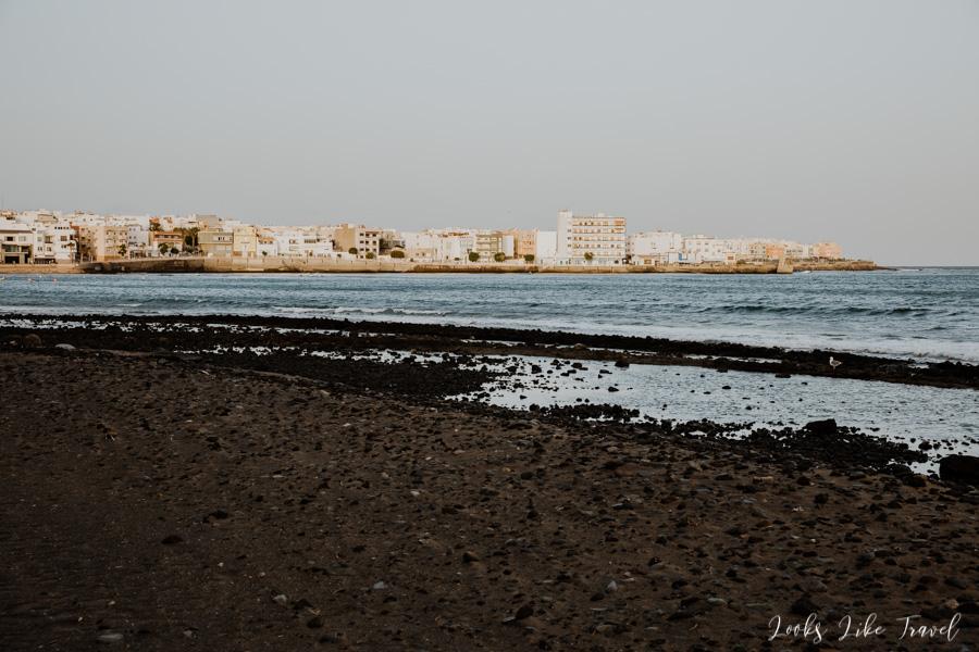 stony beach - Arinaga