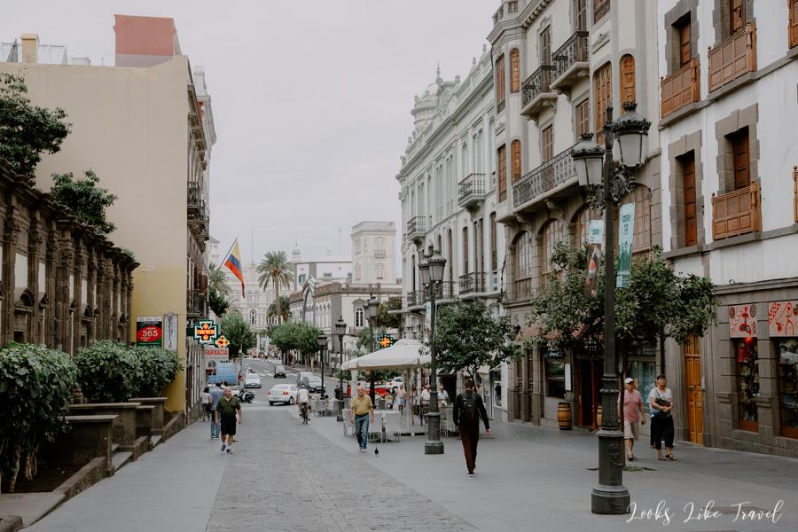 Las Palmas, old town