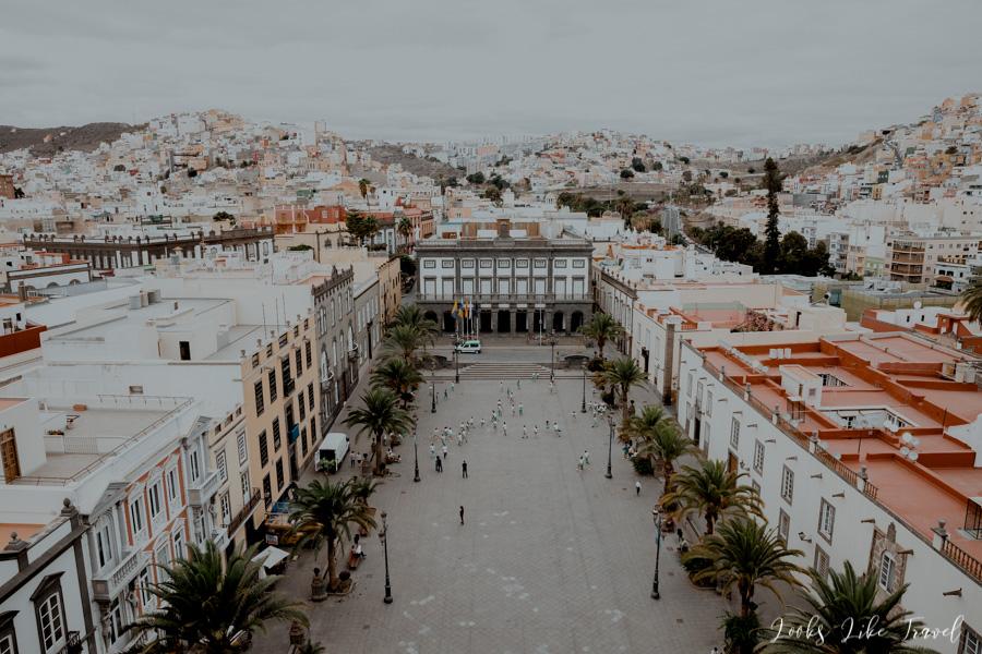 Las Palmas de Gran Canaria, panorama