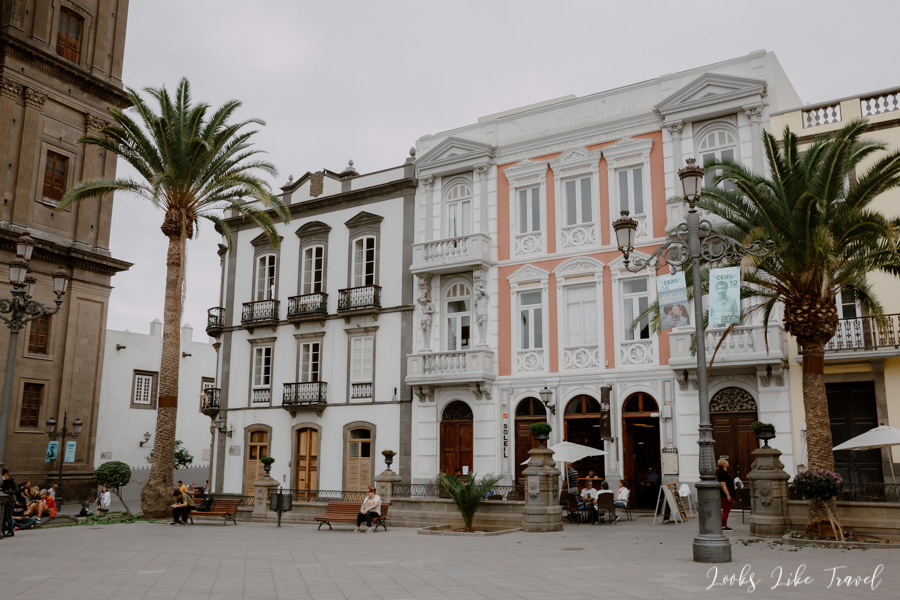 Las Palmas- Plaza de Santa Ana