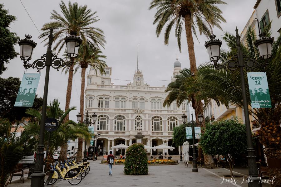 Plaza de Cairasco, Las Palmas