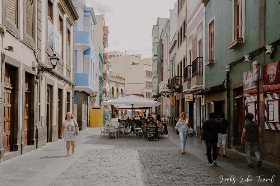 promenade in Las Palmas