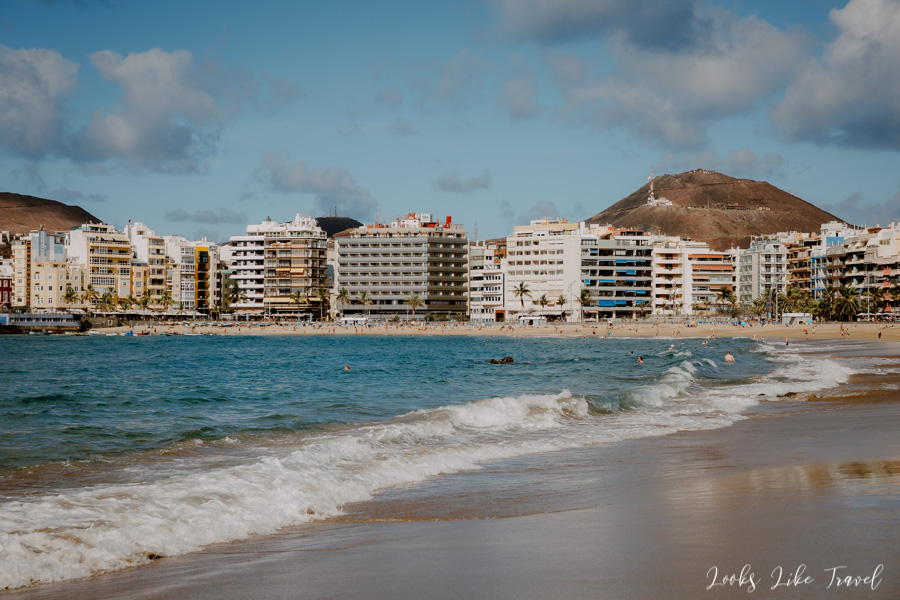 beautiful beaches of the Canary Islands