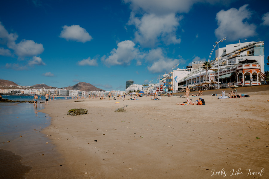 sandy beaches of Gran Canaria