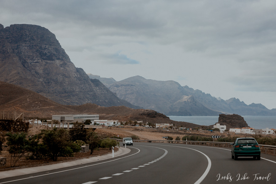 highway along the ocean, Gran Canaria