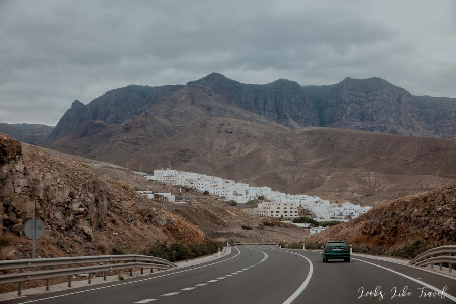 drogi na północy Gran Canarii