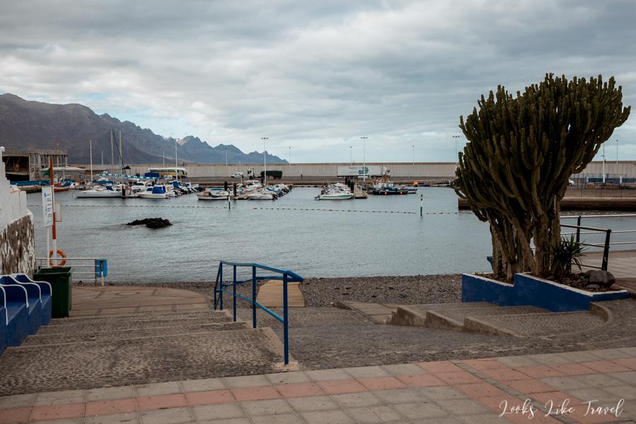 Puerto de Las Nieves- widok na ocean