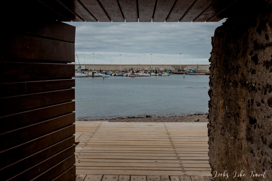 Puerto de Las Nieves- port
