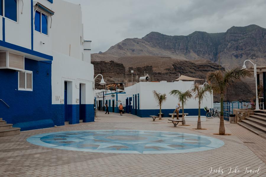 ulice Puerto de Las Nieves