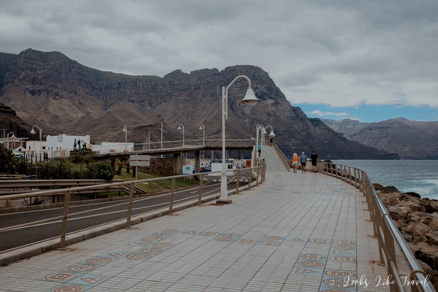 Calle el Muelle, Puerto de Las Nieves