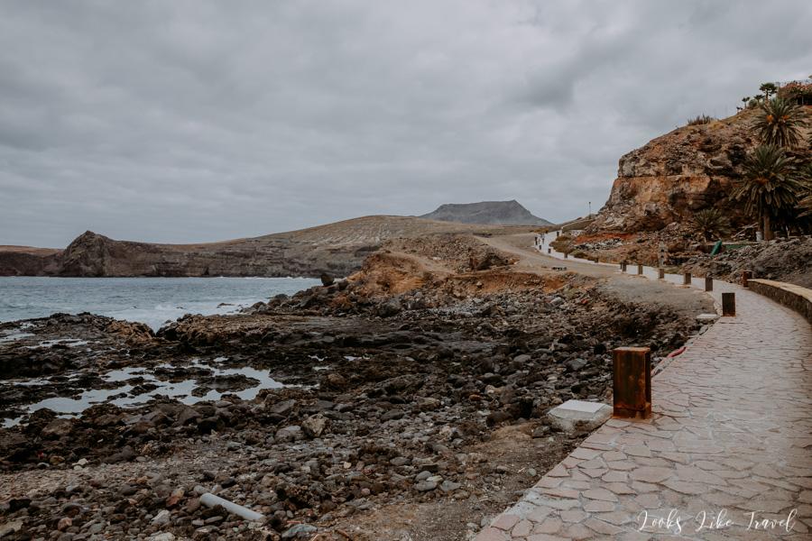 promenada w Puerto de Las Nieves