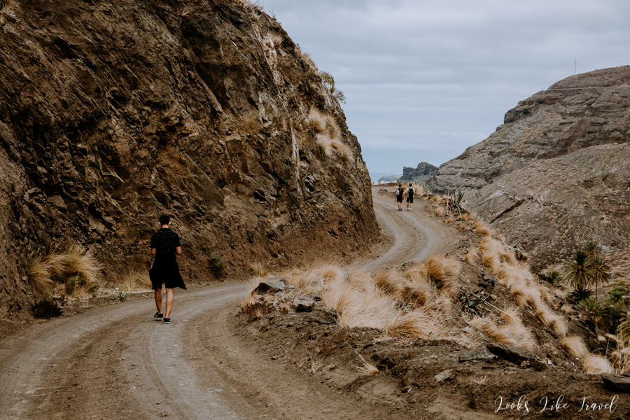 walk around Barranco de Guayedra
