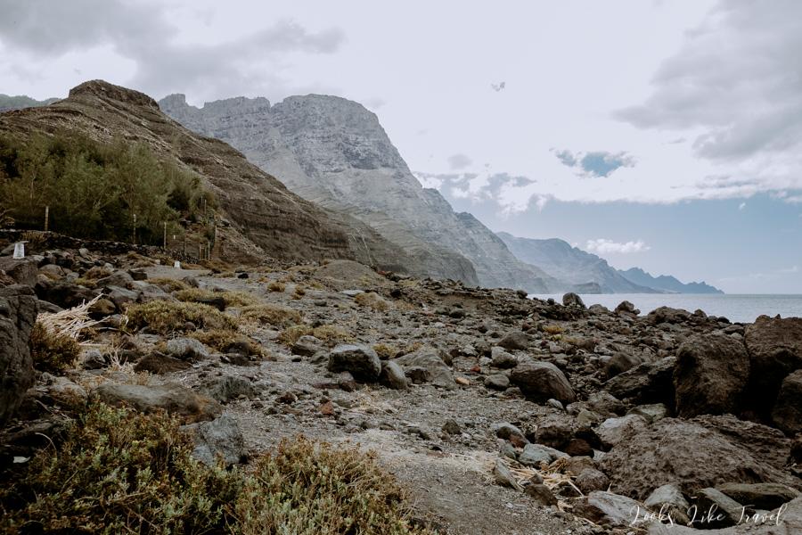 Barranco de Guayedra trekking
