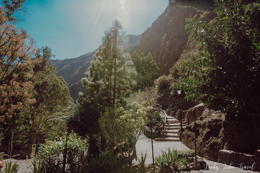 Gran Canaria - Barranco de Guayadeque