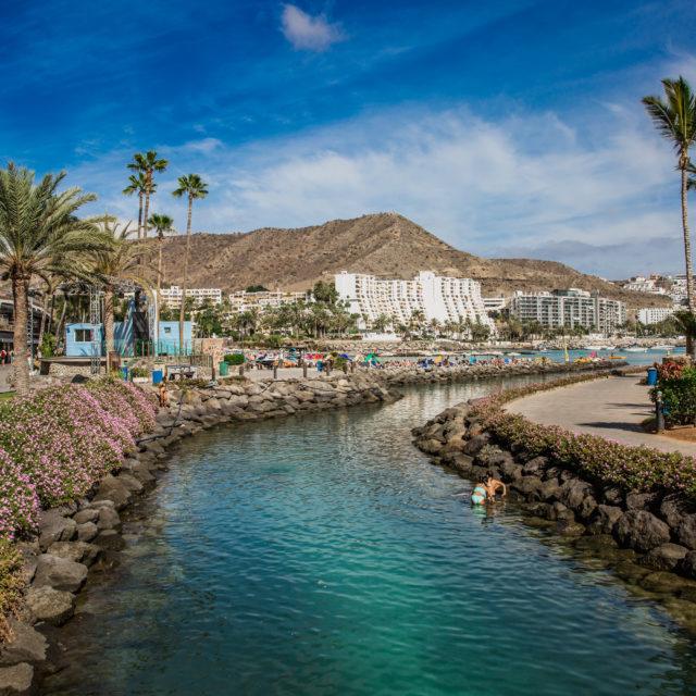 Gran Canaria, cz.2- Puerto de Mogan, Playa de Amadores, Anfi del Mar, Dunas de Maspalomas