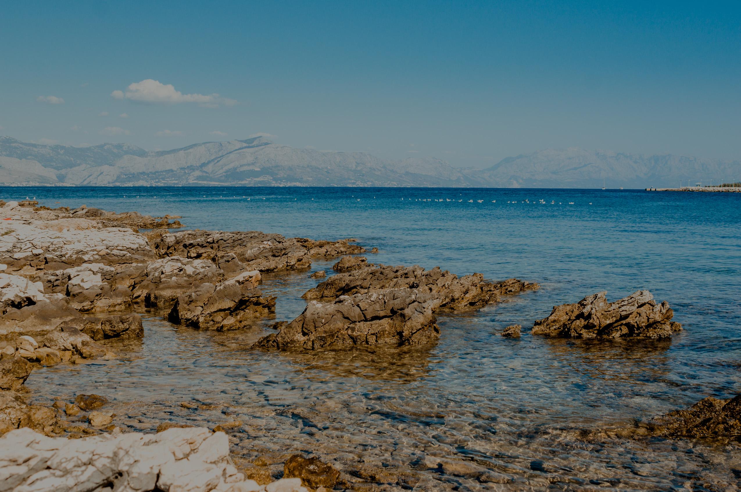 Chorwacja, wyspa Brač, dzień 1- Supetar