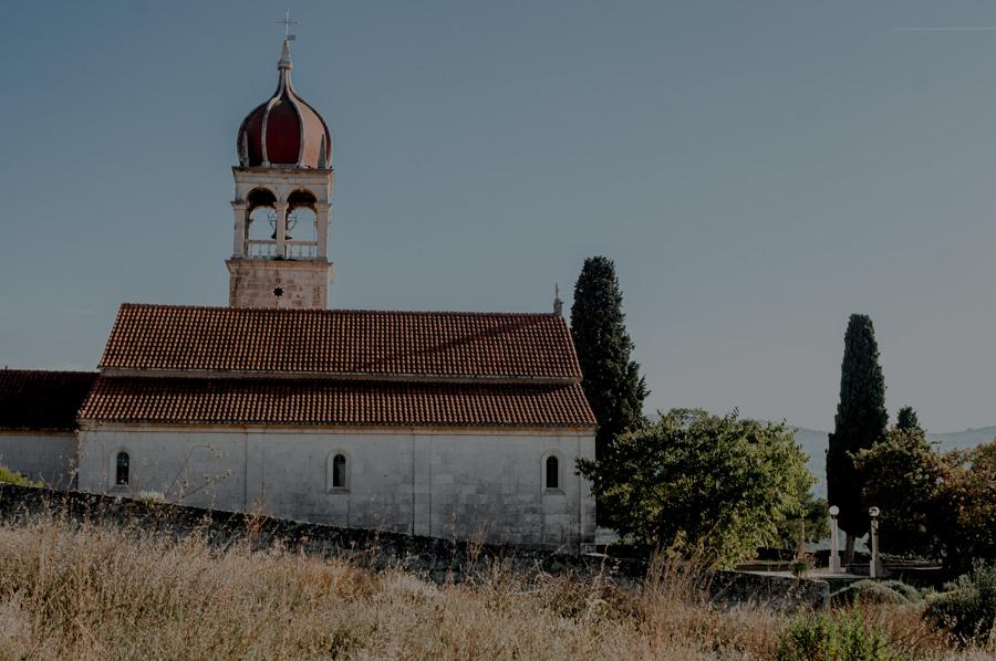 kościół w Donji Humac, Brač