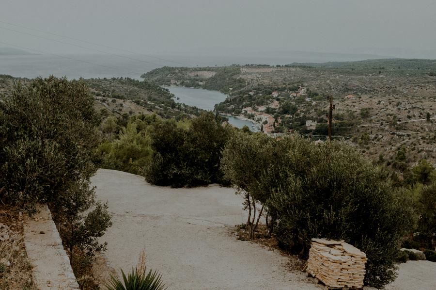 lookout point, Bobovišća na moru