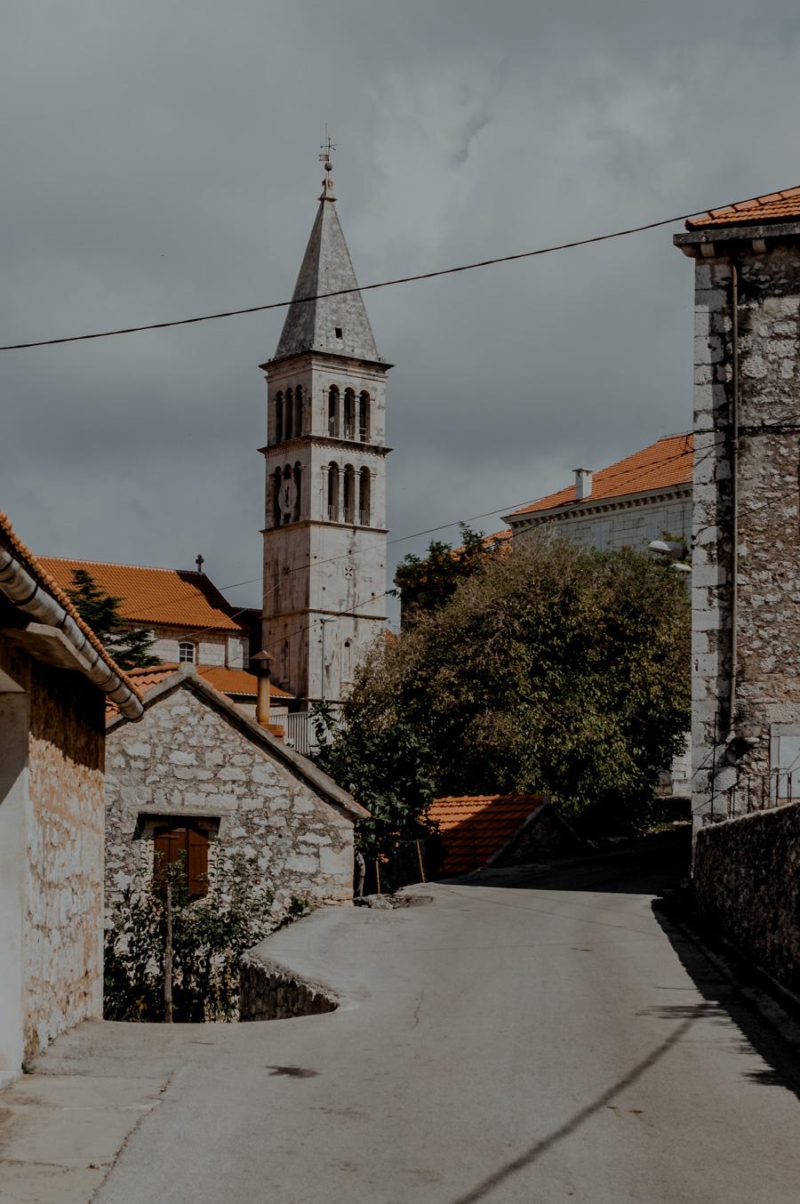 church, Nerežišća