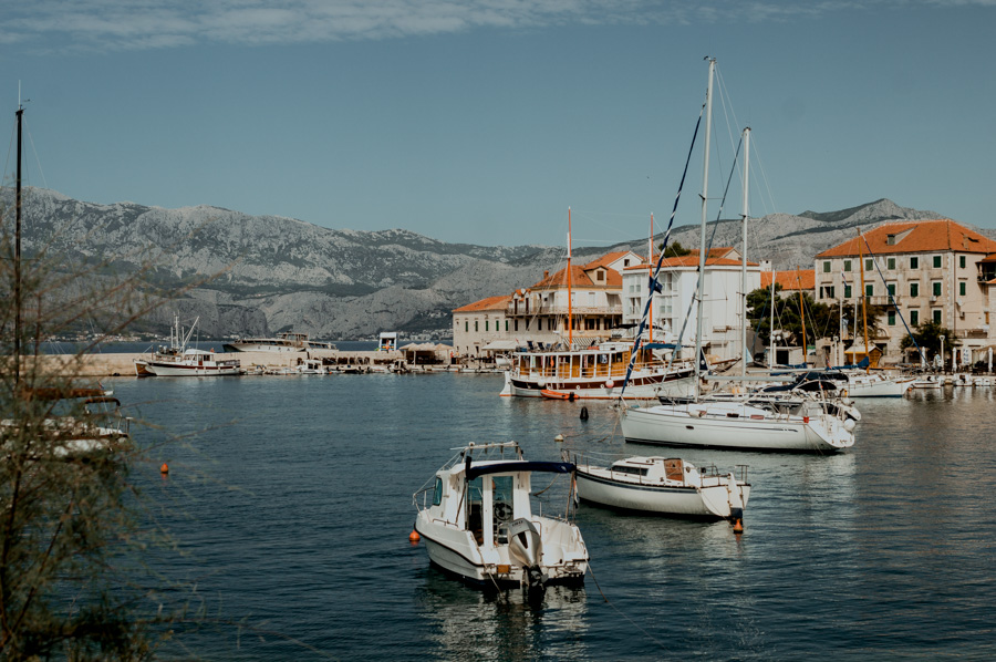 Postira, Brač island, Croatia