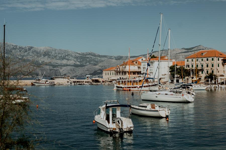 Postira, wyspa Brač, Chorwacja