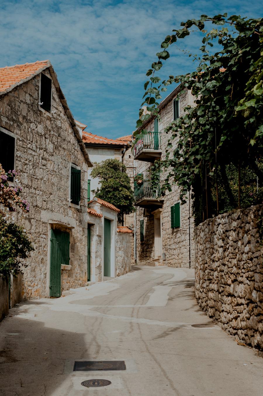 chorwackie uliczki