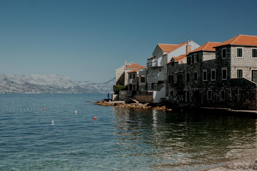 Chorwacja, wille z widokiem na morze