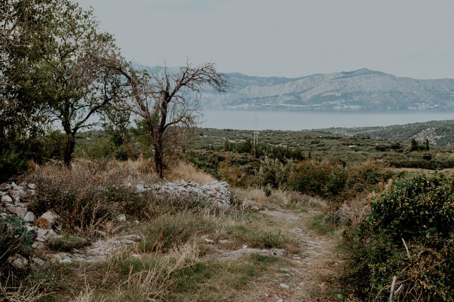 Škrip, widok na morze