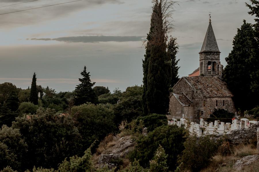 kościół w Škrip, Brač