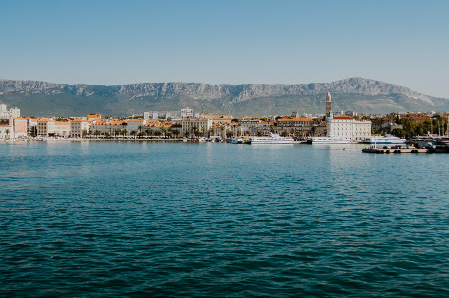 panorama of Split