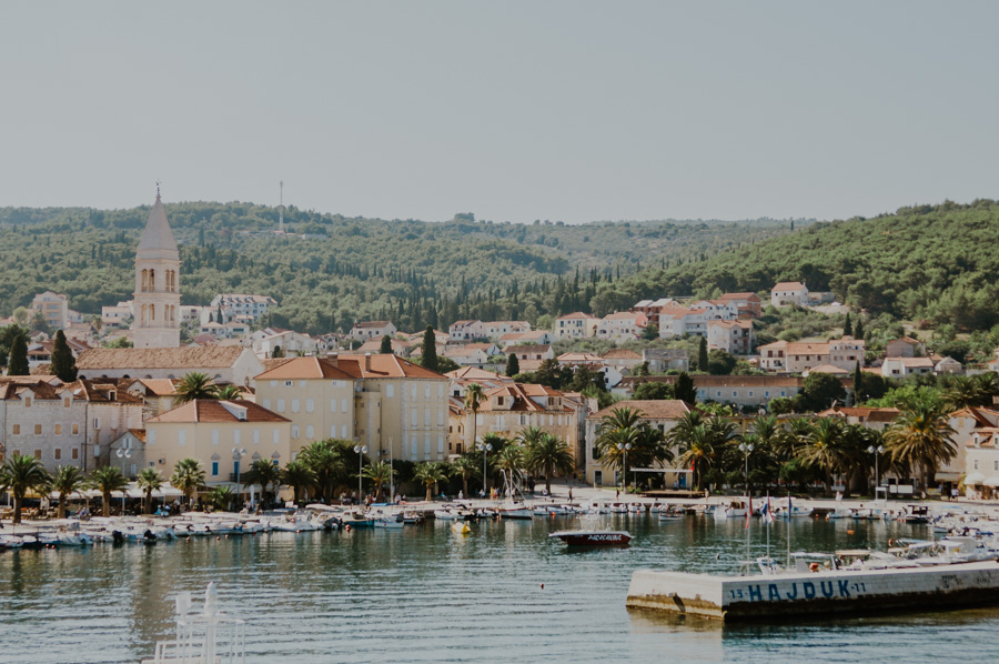 port in Supetar, Brač