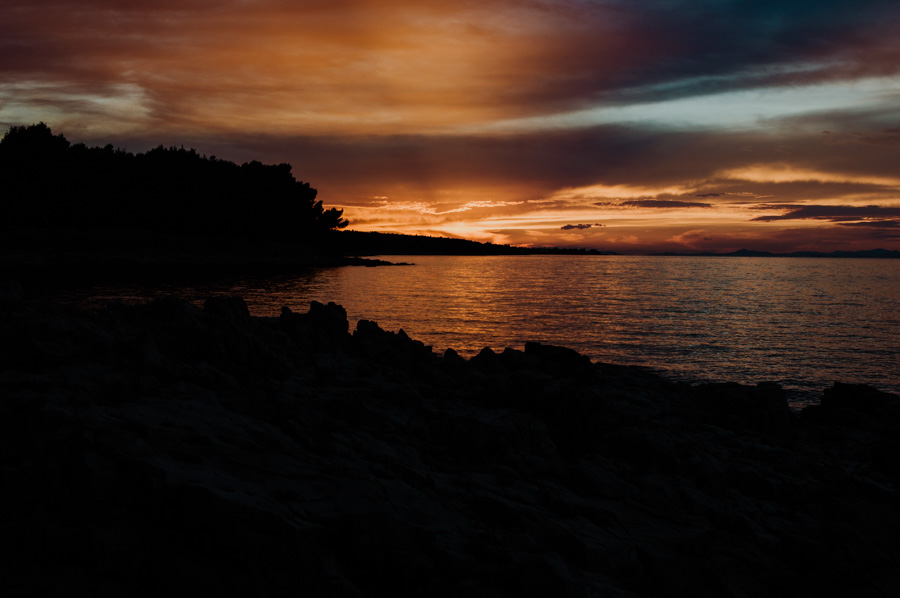 the most beautiful sunsets in Croatia