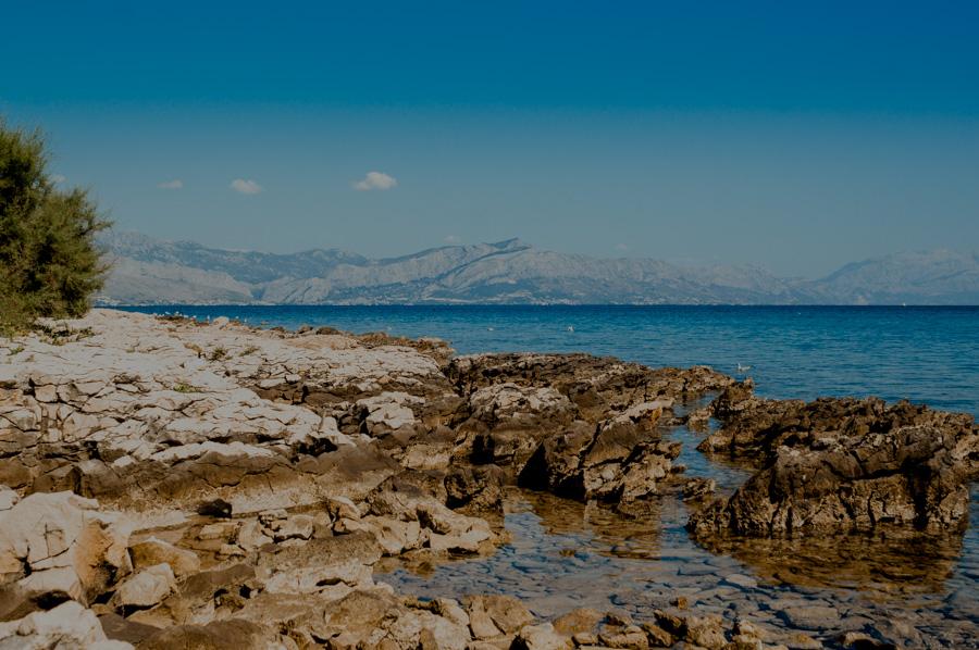 Supetar, beach