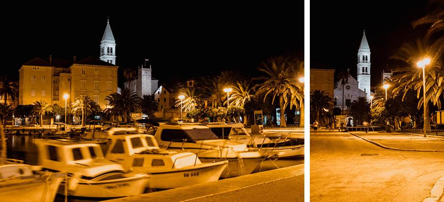 Night photos- Supetar port