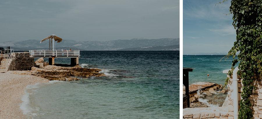 promenade on the Adriatic Sea