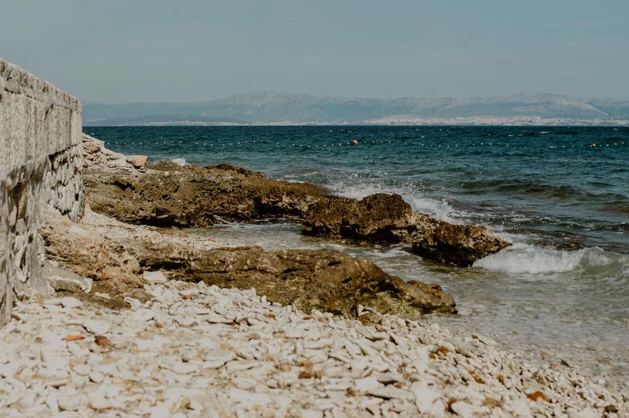 azure sea in Croatia